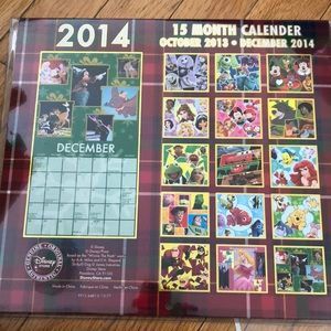 A Disney 2014 Calendar